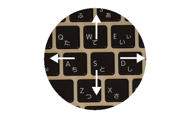 パソコンキーイメージ画像